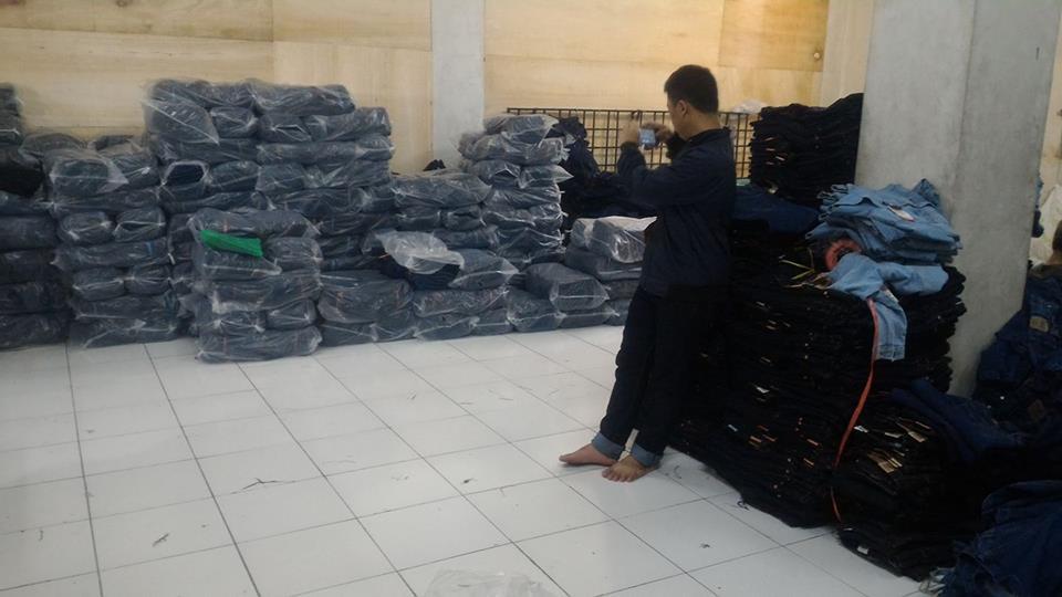 Hasil Produksi konveksi celana jeans bandung