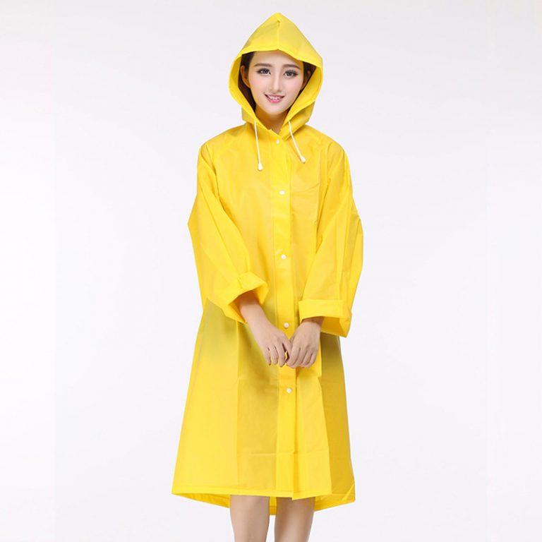 Konveksi jas hujan model overcoat