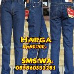 Konveksi Grosir Celana Jeans Levis Pria Biru klasik blue jeans