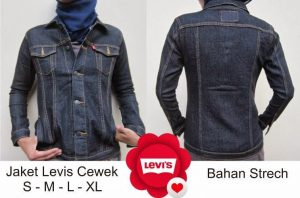 Konveksi jaket jeans cewe