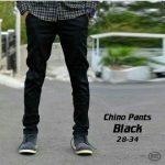 konveksi celana chino bandung warna hitam