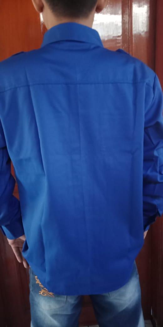 Konveksi baju seragam smk rpl bagian belakang