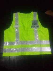 Konveksi rompi lapangan polisi