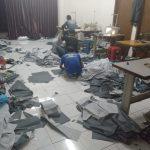 team tempur pembuatan jas hujan dinas lingkungan hidup kota bogor
