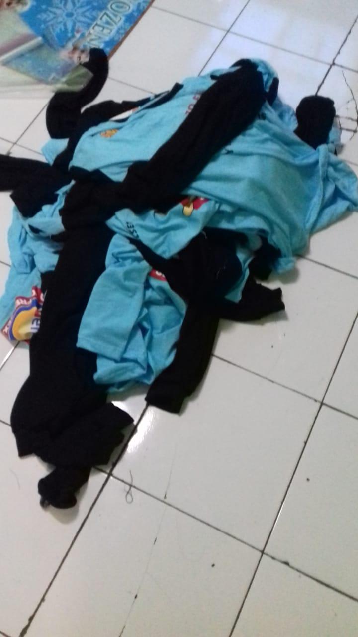 finishing kaos tactical bandung untuk smpn1 alas sulawesi