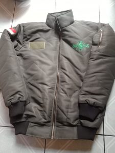konveksi jaket bomber berkualitas di bandung bahan taslan memakai lapisan dakron