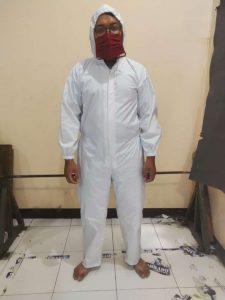 Konveksi baju alat pelindung diri bagian depan