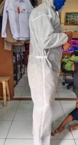 Konveksi baju alat pelindung diri bagian pinggir