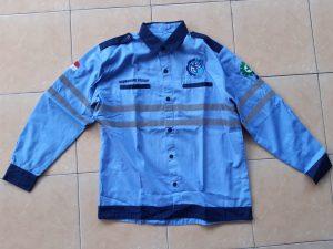 produksi seragam kemeja pdl murah bahan dril adem tidak panas.minimal produksi 36 pcs